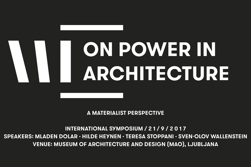 ON POWER IN ARCHITECTURE | A Materialist Perspective | International Symposium