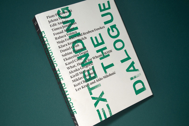 "The Book ""Extending the Dialogue"" Receives the Brumen Award for Graphic Excellency"