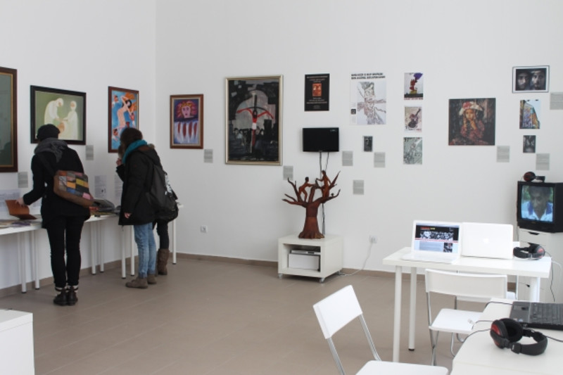 The European Roma Cultural Foundation - recipient of the Igor Zabel working grant 2012 - is opening Roma Contemporary Art Space - Gallery8
